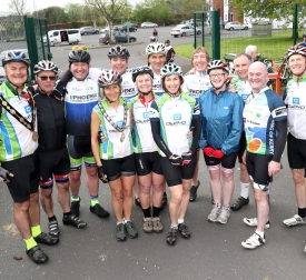 Phoenix Cycling Club Raises £3000 for Local Charities