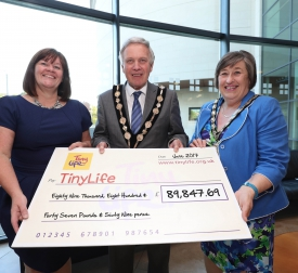 Former Mayor Raises over £89,000 for Tinylife