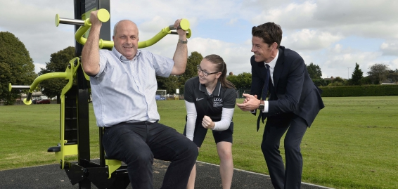 Get fit for free at our four new outdoor gyms!