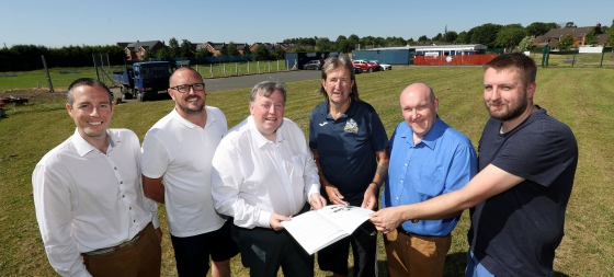 Council Welcomes Development of Ballymacash Sports Academy