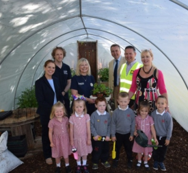 Council Supports Local School Green Community Project