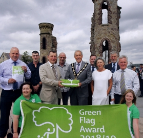 The Council Receives Three Awards for its Green Spaces