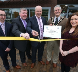 New Community Centre Officially Opened at Ballymacash Lisburn