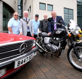 Lisburn gears up for charity Classic Car and Motorcycle Parade