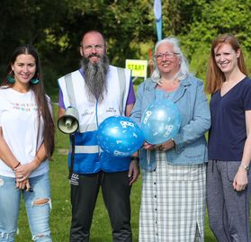 First Birthday Celebrations for Lough Moss junior parkrun