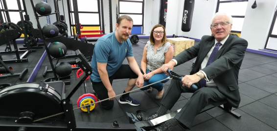 Fitness Force Comes to City Centre