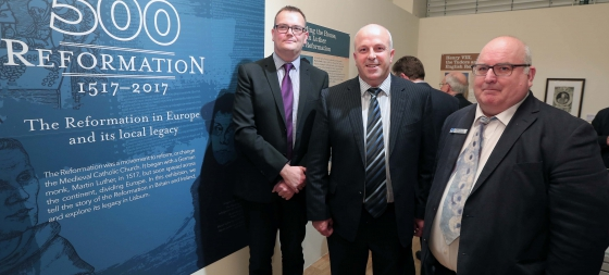 Reformation Exhibition Opens at Lisburn Museum