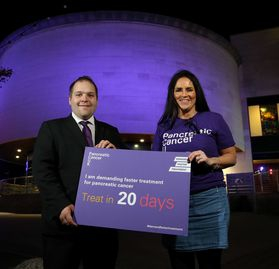 Lagan Valley Island to be Lit Purple for Pancreatic Cancer Awareness