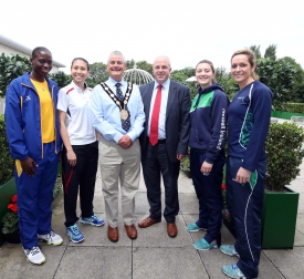 Council Hosts Reception for Netball Teams from Across the Globe