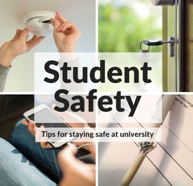 Home safety advice for students