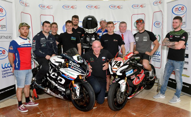 2018 MCE Ulster Grand Prix Launch
