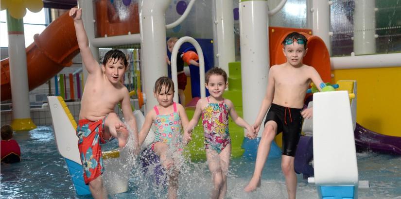 Fun in the Leisure Pool