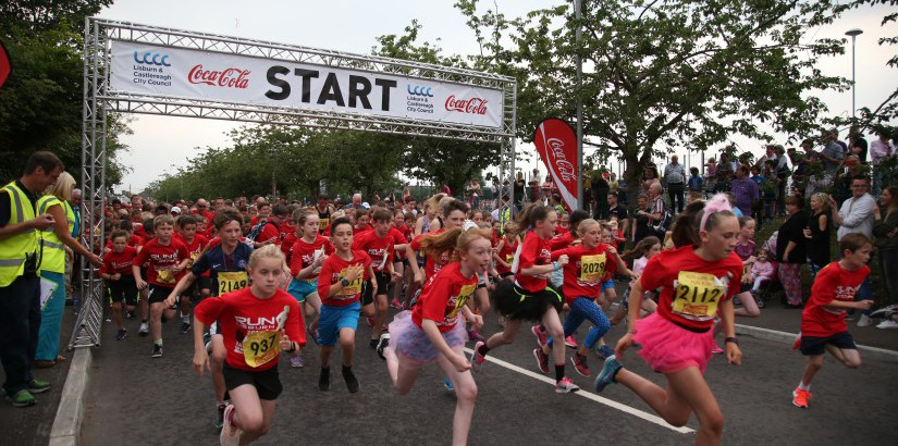 2019 Coca-Cola Lisburn Half Marathon, 10K & Fun Run