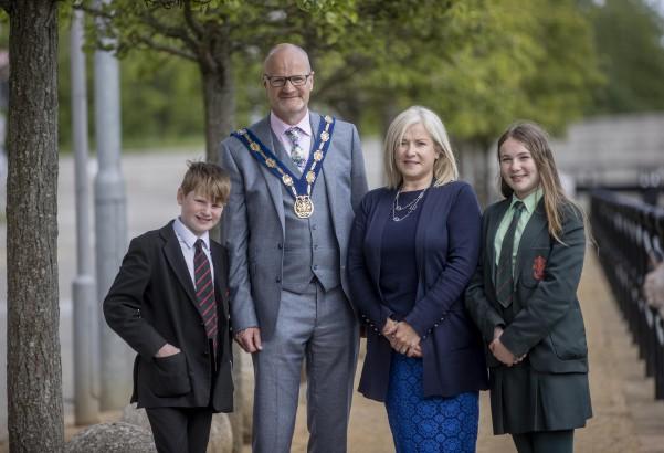 The Deputy Mayor's family