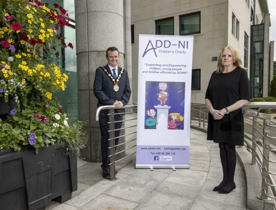 Mayor with ADD-NI representative