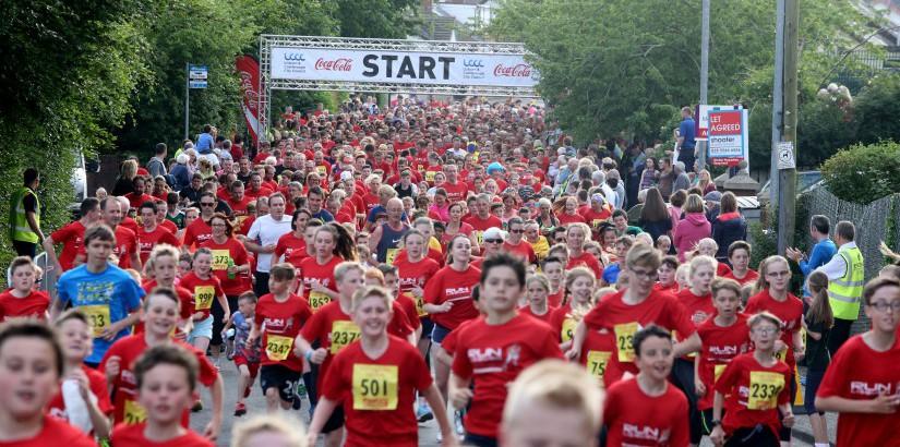 2016 Coca-Cola Lisburn Half Marathon, 10K & Fun Run