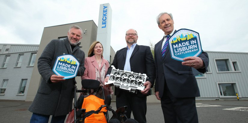Local businesses Leckey and Montupet sign up to 'Made in Lisburn Castlereagh'