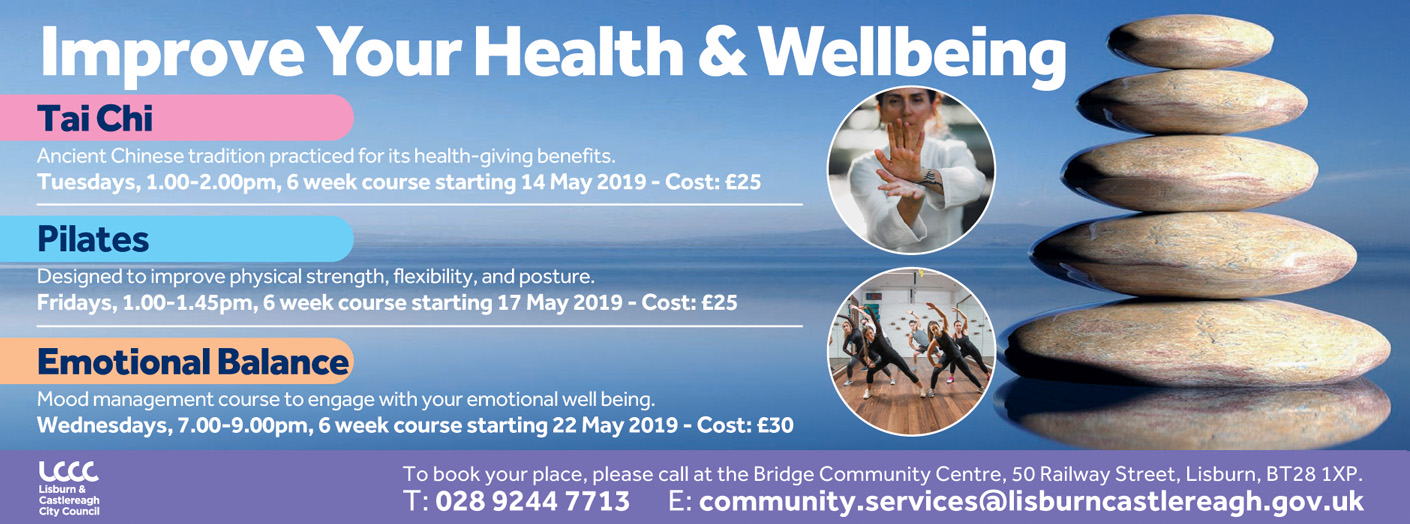 Improve your Health & Wellbeing