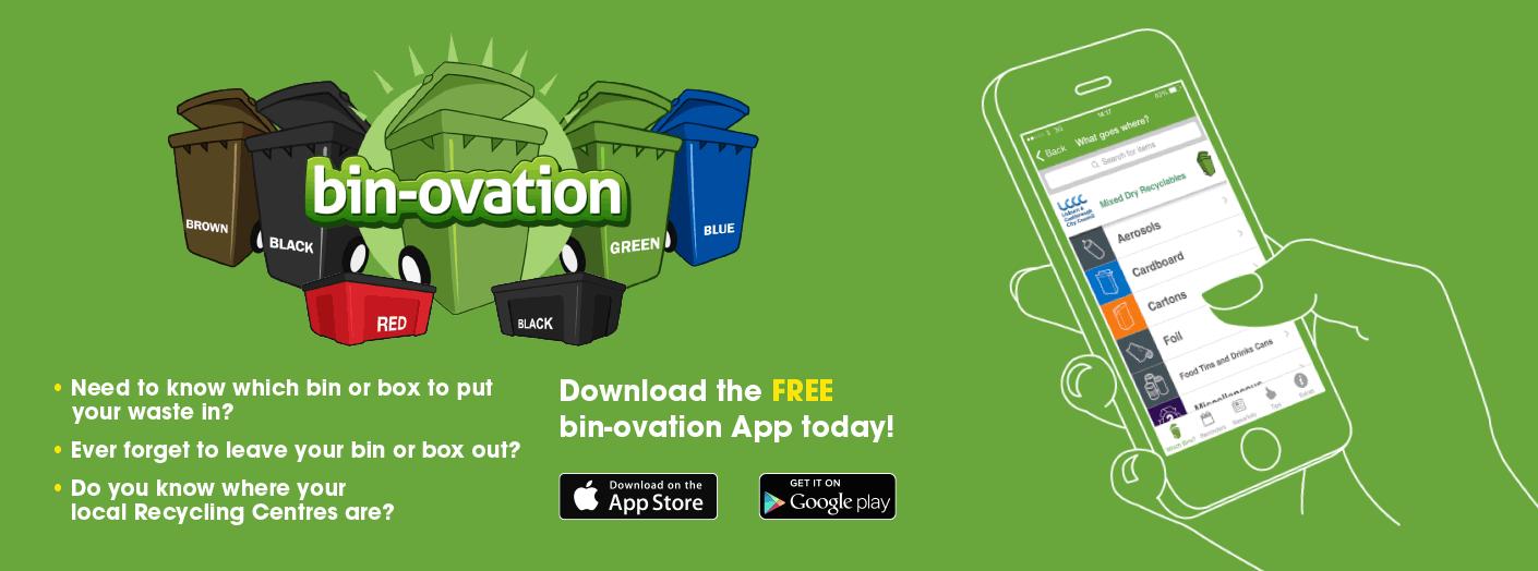 Bin-ovation App