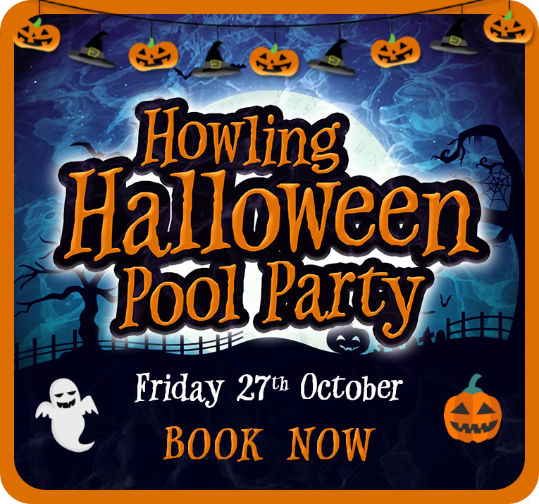 Howling Halloween Pool Party - BOOK NOW
