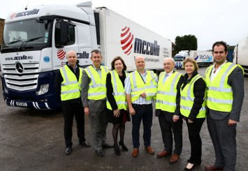 Council representatives visit one of the country's leading providers of Ambient, Chilled and Frozen logistics solutions