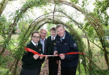 The WildLife Garden has been designed to attract a greater variety of plants and animals into the park