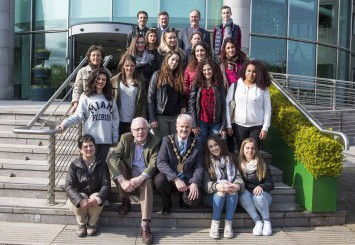 Two EU Millennials Tours recently take part in the Council area as part of a transnational tourism initiative