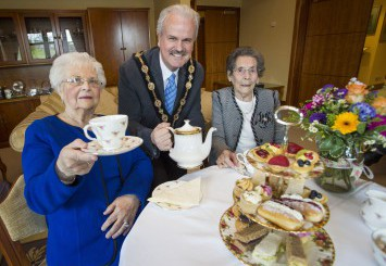 Mayor to host Tea Party for Residents Turning 90 or Older in 2016