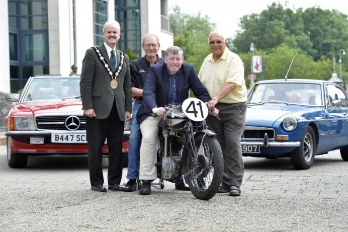 Lisburn & Castlereagh City Council Brings a Touch of Ulster Grand Prix Nostalgia to the City