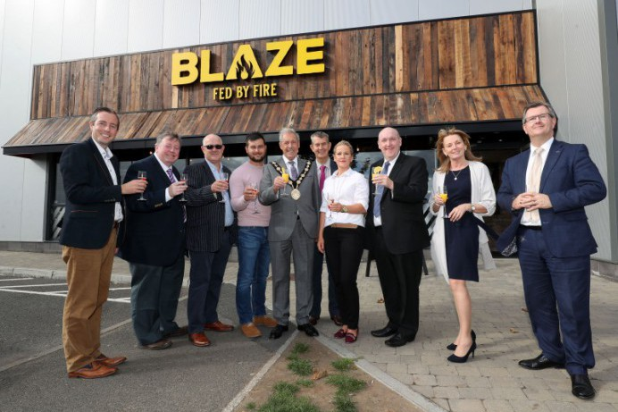 Lisburn Bowl launch new restaurant Blaze Grill – Fed by Fire