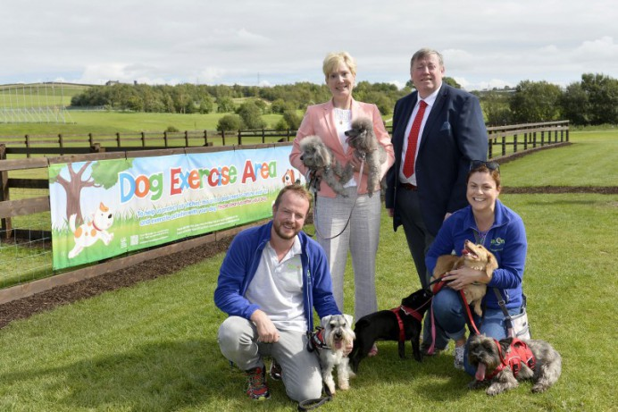 Council Opens Its First Dog Exercise Area