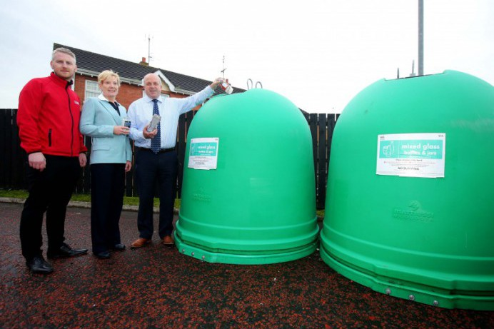 New Glass Recycling Facility in Dromara