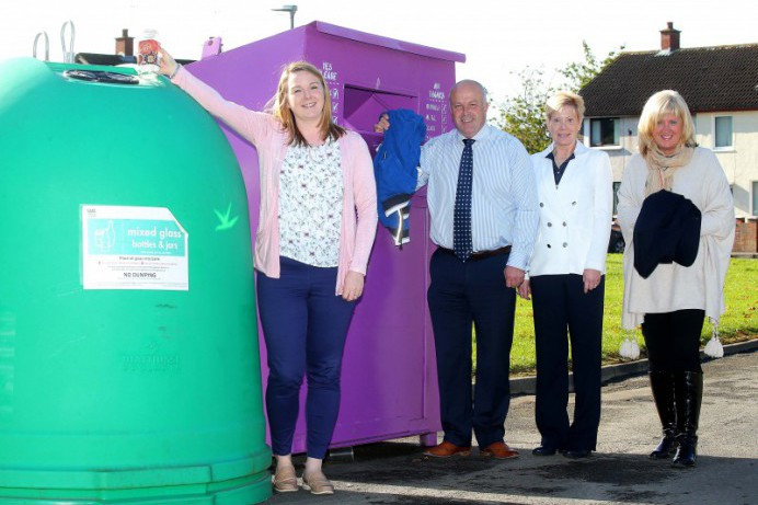 New Recycling Facilities in Ballybeen