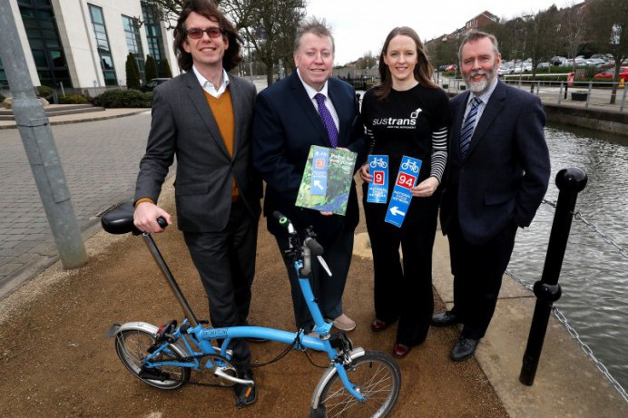 Sustrans launches 'Paths for Everyone'