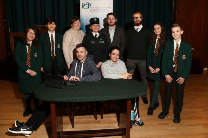 Young People Educated on Internet Safety