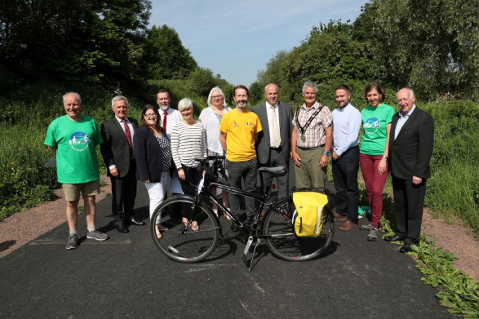 More Room to Share with Improvements at Comber Greenway