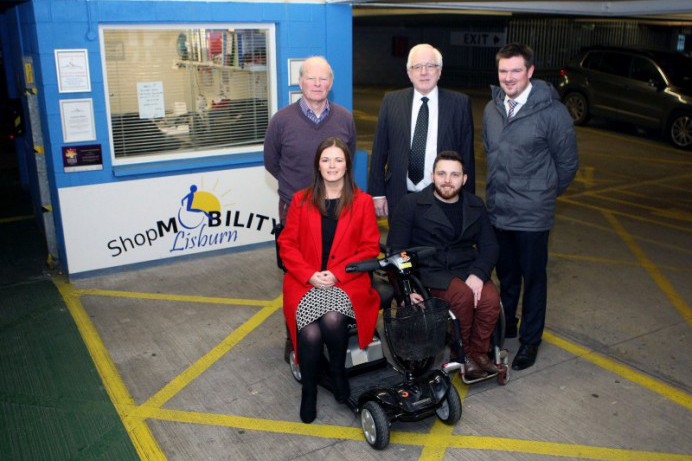 Shopmobility - keeping Lisburn moving