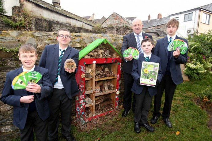 Local schools show they are Wild About Gardens