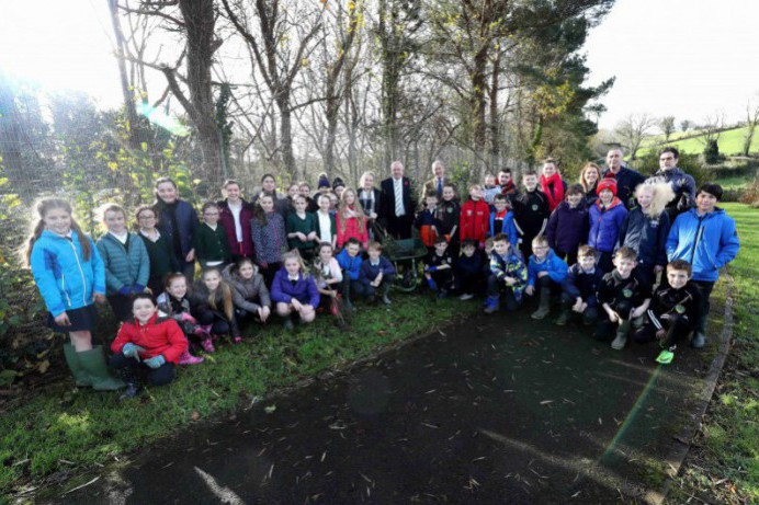 Local Young People Help to Enhance Biodiversity in Lagan Park