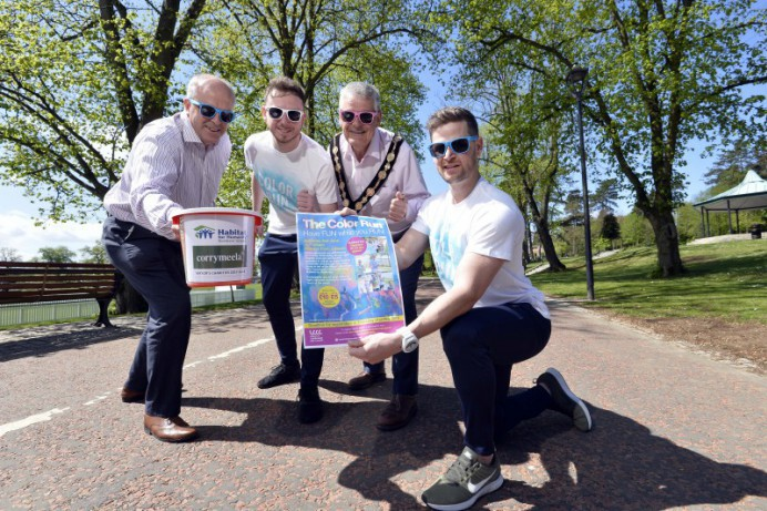 Experience the 5K Color Run at Wallace Park, Lisburn