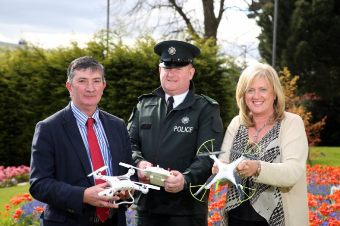 Council asks people to leave their drones at home.
