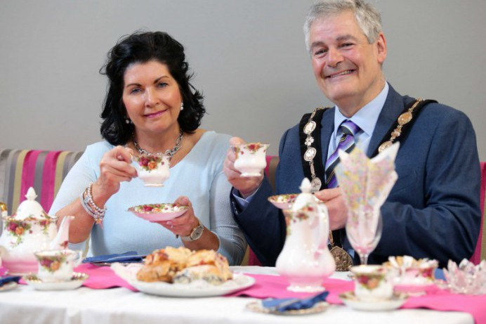 Tickets on sale for Mayoral Charities Spectacular Ladies Vintage Tea Evening at Café Vic-Ryn