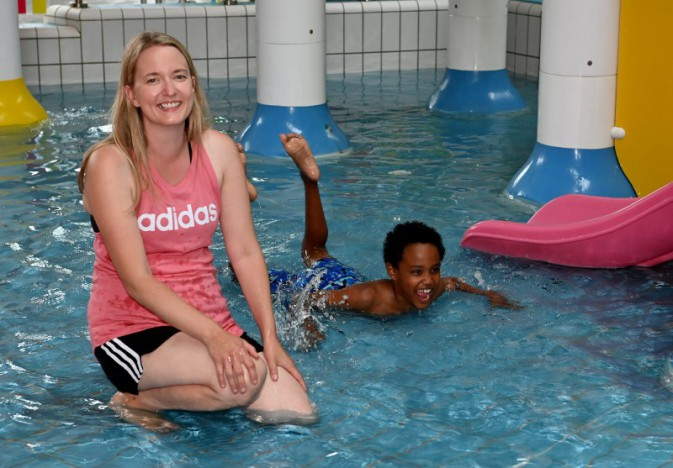 Disability friendly swimming sessions underway at Lagan Valley LeisurePlex