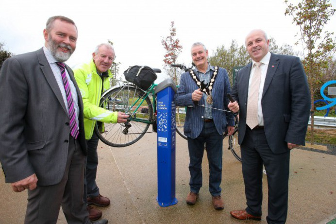 New Cycle Hub Opens at Billy Neill