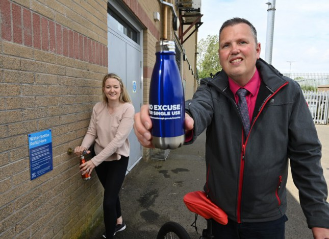 Water Refill Station installed at Lough Moss Leisure Centre