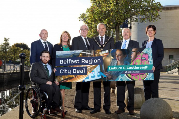 Regional Partners go to Westminster to unlock the Belfast Region City Deal