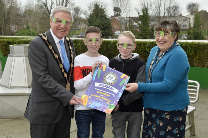 Mayor Celebrates 'Care Day NI' with Young People in Care Charity