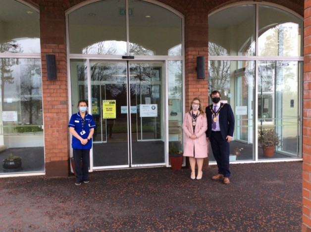 Mayor Visits Local Care Homes
