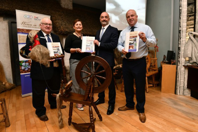 'Woven in Ulster: Ulster-Scots and the Story of Linen' primary school education resource presented to Lisburn Museum