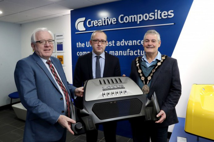 Business Engagement Visit to Creative Composites